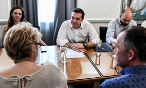 Τσίπρας στο ΣΕΠΕ: Eθνικός στόχος η δημιουργία νέων ποιοτικών θέσεων εργασίας με αυξημένους μισθούς
