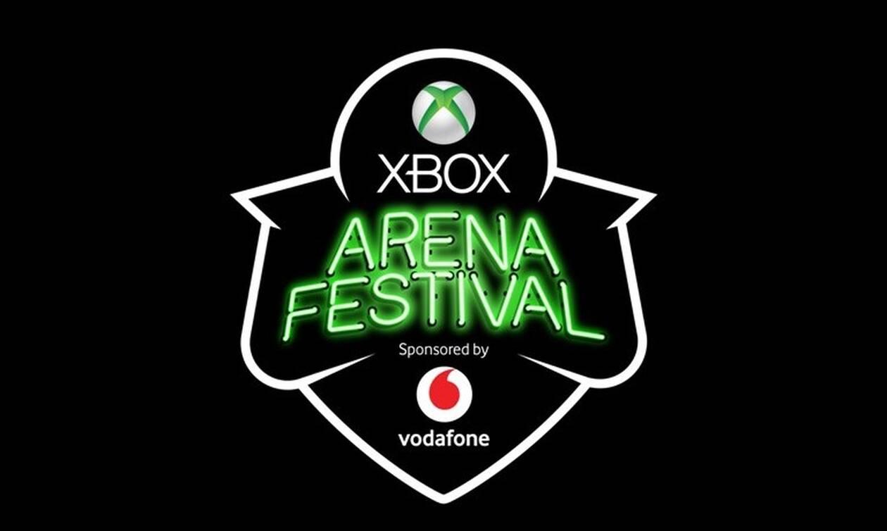 To Xbox Arena Festival Sponsored by Vodafone μοιράζει δώρα αξίας 55.000 ευρώ!