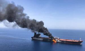 Ομάν: Εντοπίστηκε εκρηκτικός μηχανισμός, πιθανότατα νάρκη, υποστηρίζουν οι ΗΠΑ