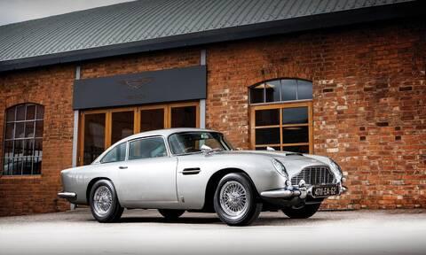 Με αυτήν την Aston Martin DB5 κανείς δεν θα τολμήσει να σας απειλήσει
