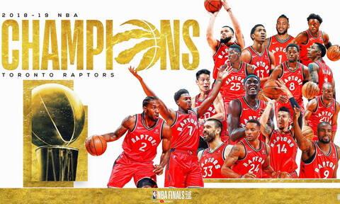 Οι Τορόντο Ράπτορς είναι οι νέοι πρωταθλητές του NBA