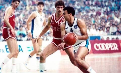 Σαν σήμερα: Ο θρίαμβος της Εθνικής Ελλάδος στο Ευρωμπάσκετ του 1987