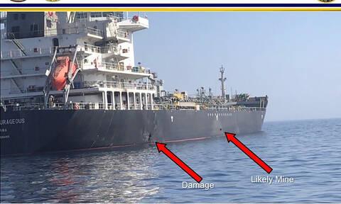 Θρίλερ στον Κόλπο του Ομάν: «Είδαμε ιπτάμενο αντικείμενο πριν από την έκρηξη στο τάνκερ»