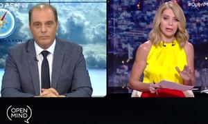 Χαμός στον «αέρα»: Αποχώρησε ο Βελόπουλος μετά από επικό καυγά με την Στάη