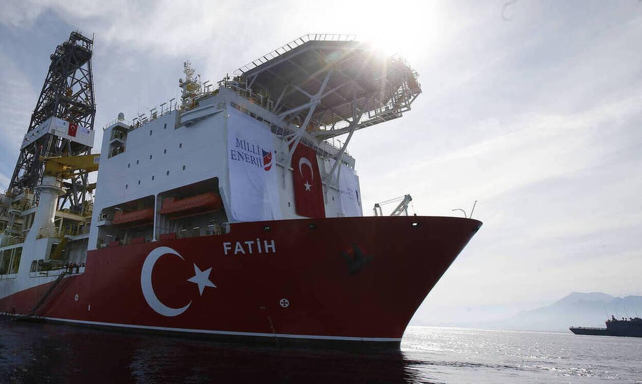 Τύμπανα πολέμου στην Κύπρο: Έπιασε δουλειά το τουρκικό γεωτρύπανο