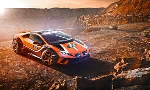 Σε μερικούς μήνες θα μπορεί κάποιος να αγοράσει τη χωμάτινη Lamborghini Huracan Sterrato