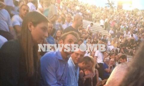 Αποκλειστικό Newsbomb.gr: Ο Κυριάκος Μητσοτάκης στη συναυλία των «Jethro Tull» (pics)