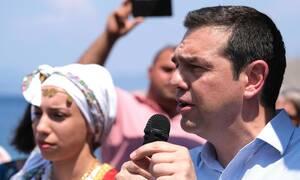 Τσίπρας από Τήλο: Όλοι μαζί να προχωρήσουμε μπροστά