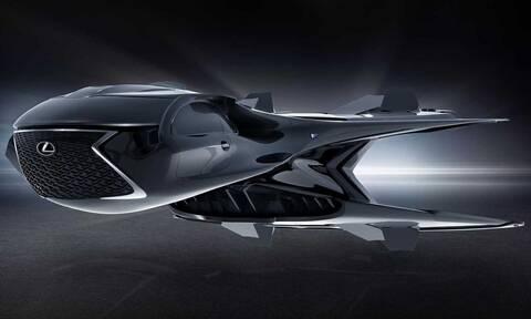 Η Lexus πάει στο Χόλυγουντ με ένα… διαστημικό σκάφος!