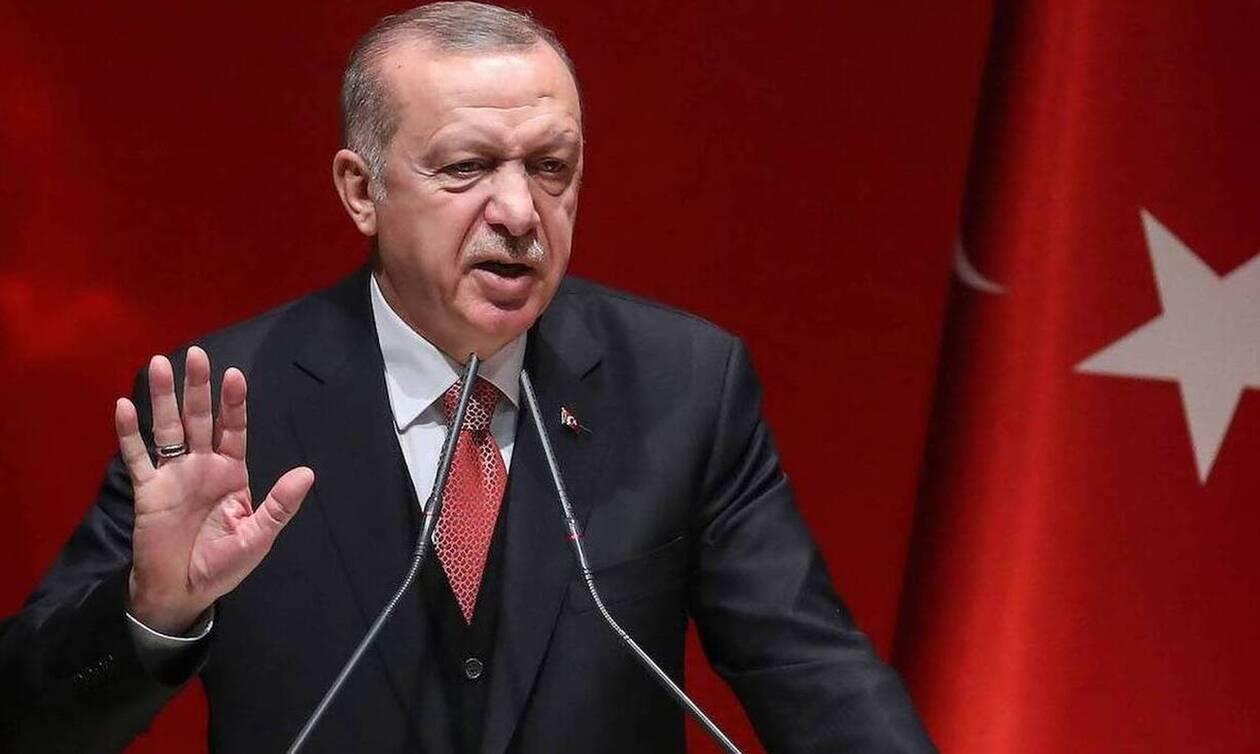 Το τερμάτισε ο Ερντογάν για τις γεωτρήσεις: «Θα μας συλλάβετε; Θα γλείφετε μόνο την παλάμη σας»