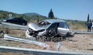 Φρικτό τροχαίο στη Φθιώτιδα: Νεκρός 21χρονος - Σε κρίσιμη κατάσταση η αδερφή του (pics)