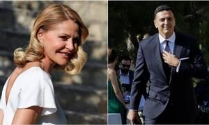 Τζένη Μπαλατσινού - Βασίλης Κικίλιας: Ο παραμυθένιος γάμος, το νυφικό και οι καλεσμένοι (pics)