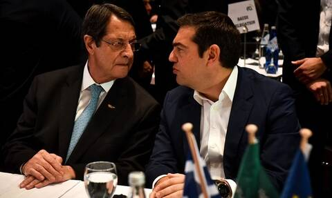 Tηλεφωνική επικοινωνία Τσίπρα – Αναστασιάδη για τις εξελίξεις στην Ανατολική Μεσόγειο