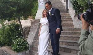 Γάμος Μπαλατσινού - Κικίλια: Δείτε ποια επώνυμη έπιασε την ανθοδέσμη της Τζένης