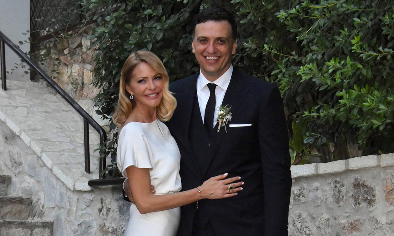 Γάμος Μπαλατσινού - Κικίλια: Φωτό μέσα από τον Ιερό Ναό και από το μυστήριο