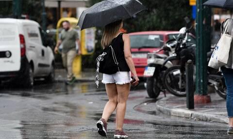 Καιρός Αγίου Πνεύματος: Βροχές, καταιγίδες και πτώση της θερμοκρασίας τη Δευτέρα