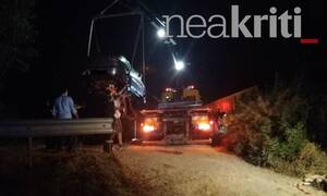 Τραγωδία στην Κρήτη: Αυτοκίνητο έπεσε στον ποταμό Γιόφυρο - Νεκρός ο οδηγός (pic)