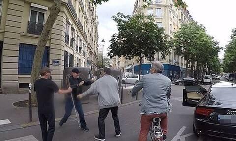 Ντροπή! Οδηγός επιτέθηκε σε τυφλό και πήγε να τον πατήσει (pics+vid)