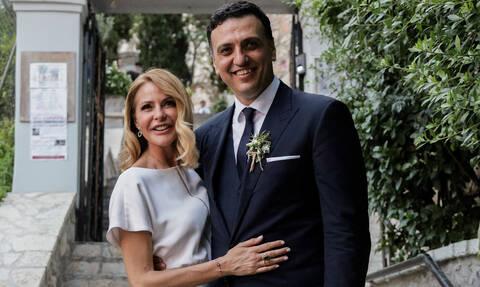 Βασίλης Κικίλιας: Η πρώτη ανάρτησή του μετά το γάμο - Τι έγραψε για την Τζένη Μπαλατσινού