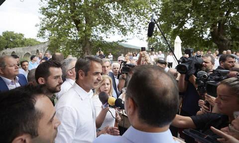 Μητσοτάκης από Άρτα: Θα μειώσουμε τους φόρους για κάθε Έλληνα και για τους αγρότες