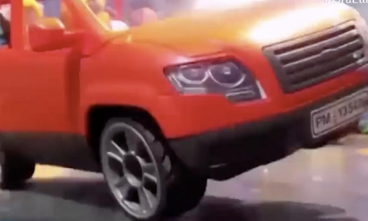 Ρέθυμνο: Έφτιαξαν βίντεο με Playmobil για τα τροχαία και την αξία της αιμοδοσίας (video)