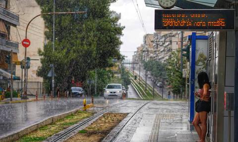 Διακοπή της κυκλοφορίας των συρμών του Τραμ στην Αθήνα