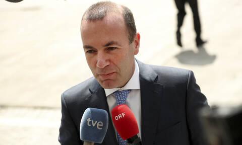 Βέμπερ: Η Τουρκία πρέπει να σταματήσει οποιαδήποτε παράνομη δραστηριότητα