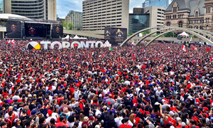 Τορόντο: Πυροβολισμοί στη φιέστα για το πρωτάθλημα των Ράπτορς -  Δύο τραυματίες