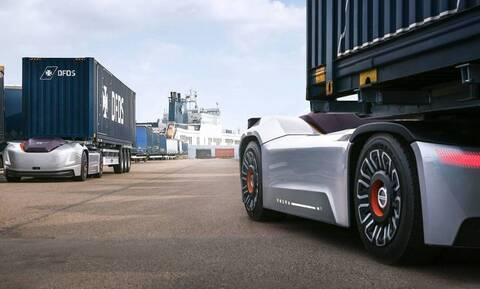Ο αυτόνομος τράκτορας Vera της Volvo πιάνει δουλειά σε λιμάνι (vid)