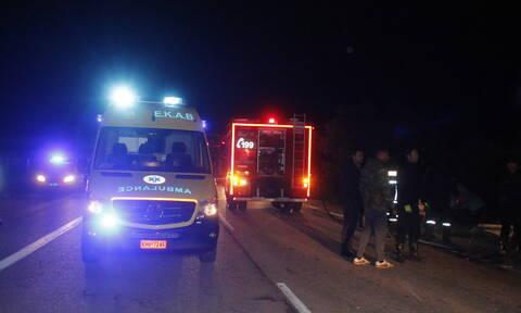 Φρικτό τροχαίο στην Ε.Ο. Αθηνών - Λαμίας: Τη διαμέλισε αυτοκίνητο μπροστά στα μάτια του συζύγου της