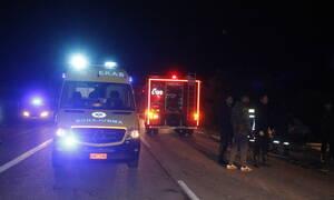 Φρίκη στην Εθνική Οδό Αθηνών - Λαμίας: Διαμελίστηκε μπροστά στα μάτια του συζύγου της