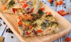 Η συνταγή της ημέρας: Ομελέτα φούρνου με λαχανικά