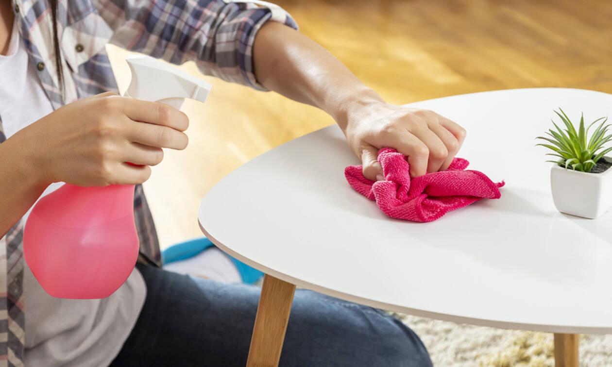 Σου τελείωσε το καθαριστικό; Φτιάξ'το μόνη σου με 4 μόνο υλικά