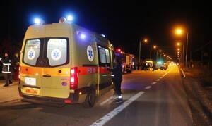 Απίστευτο τροχαίο στο Ηράκλειο: Αυτοκίνητο έπεσε στα βράχια (pic)