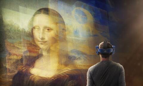 Λούβρο: Τι σχέση έχουν η Μόνα Λίζα και η εικονική πραγματικότητα;