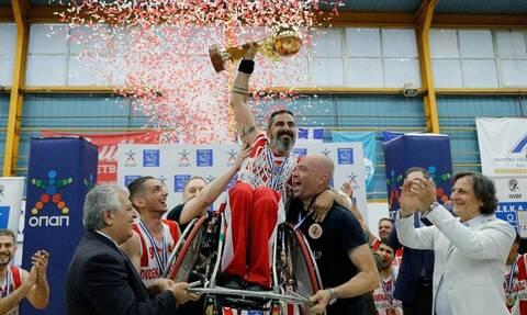 Πρωταθλητές ΟΣΕΚΑ - Σε πανηγυρικό κλίμα το Final Four μπάσκετ με αμαξίδιο με μεγάλο χορηγό τον ΟΠΑΠ