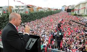Προκλητικός ο Ερντογάν: «Το 1453 ξεκίνησαν οι κατακτήσεις της καρδιάς μας»