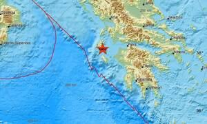 Σεισμός ΤΩΡΑ στην Κεφαλονιά - Αισθητός στο νησί (pics)