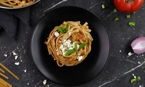 Η συνταγή της ημέρας: Λαζάνια με γεύση γεμιστά