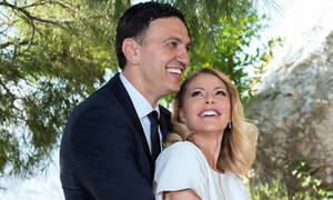 Τζένη Μπαλατσινού: Στο πλευρό του Βασίλη Κικίλια στην πρώτη τους εμφάνιση ως παντρεμένοι