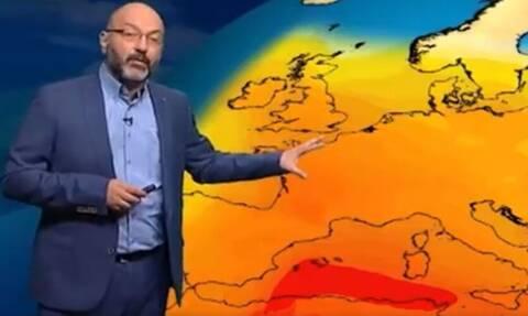 Καιρός: Έκτακτη προειδοποίηση Αρναούτογλου - Ισχυρό κύμα καύσωνα στην Ευρώπη (vid)