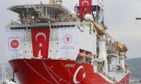 Στο «κόκκινο» η ένταση στην κυπριακή ΑΟΖ - Στην Καρπασία θα κάνει γεωτρήσεις το «Γιαβούζ»