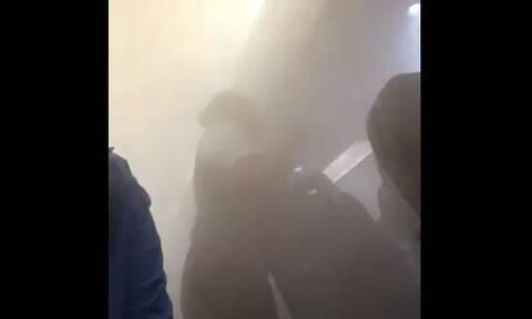 Χάος σε πτήση - Απίστευτες εικόνες από την καμπίνα (pics)