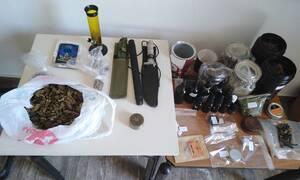 Ηράκλειο: Πέντε συλλήψεις για αδικήματα περί ναρκωτικών και όπλων