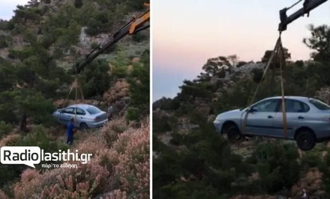 Ηράκλειο: Έπεσε σε γκρεμό 40 μέτρων και σώθηκε!