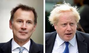Βρετανία: «Μονομαχία» Μπόρις Τζόνσον - Τζέρεμι Χαντ για τη διαδοχή της Μέι