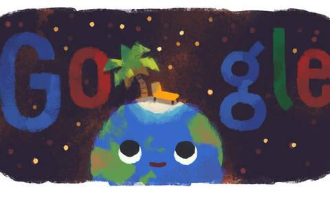 Καλοκαίρι: Ξεκινά και επίσημα - Το doodle της Google για το θερινό ηλιοστάσιο!