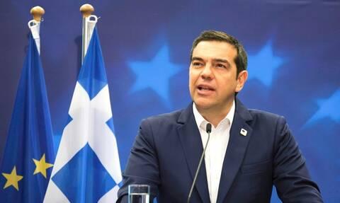 Ο πρωθυπουργός Αλέξης Τσίπρας στο CNN Greece