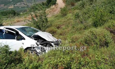 Νέο θανατηφόρο τροχαίο στην Αταλάντη: Νεκρός ο οδηγός αυτοκινήτου που έπεσε σε γκρεμό (pics)