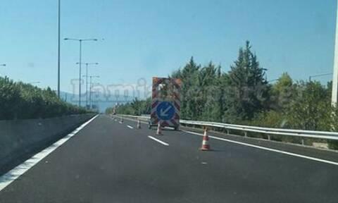 Προσοχή: Κλειστή η έξοδος Αταλάντης στο ρεύμα προς Αθήνα